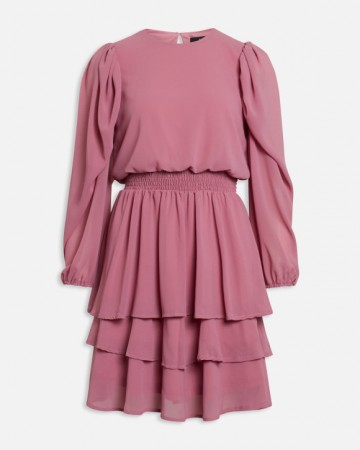 NICOLINE DRESS ROUGE