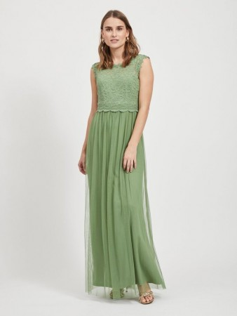 VILYNNEA MAXI DRESS LODEN FROST