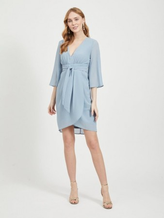 VIMICIDIA DRESS ASHLEY BLUE