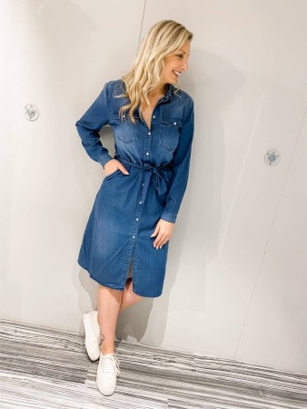 FIA DENIM DRESS