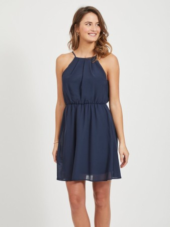VIMICADA SHORT DRESS NAVY